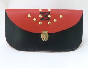 pochette ceinture bicolore